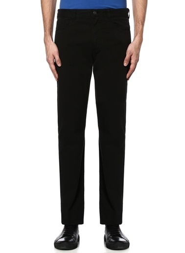 Canali Denim Pantolon Siyah